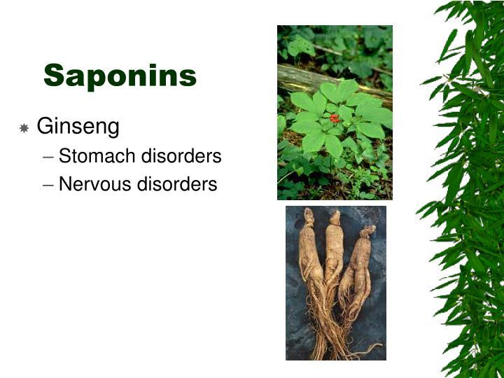 Saponins