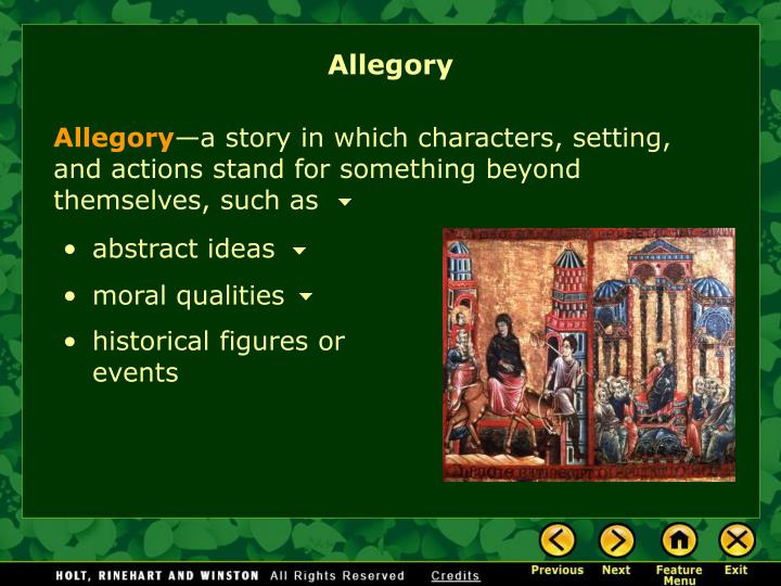 Allegory