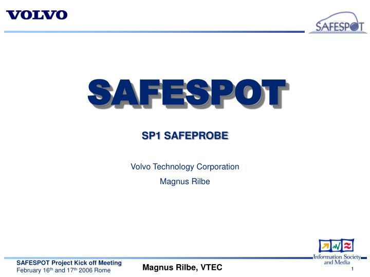 SP1 SAFEPROBE
