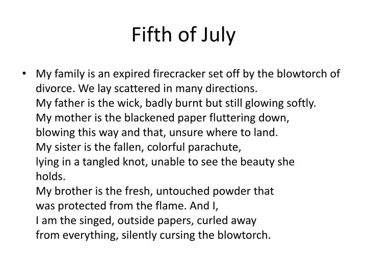 Fifth of July