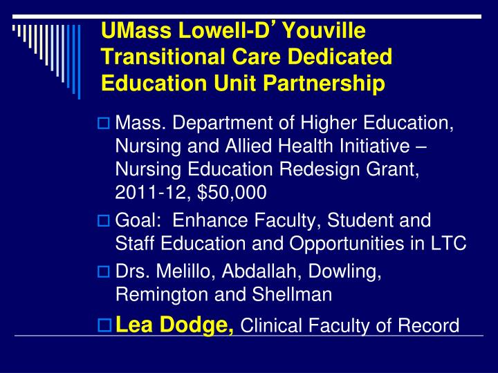 UMass Lowell-D