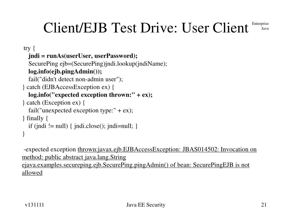 PPT - Java EE Security PowerPoint Presentation - ID:6902122