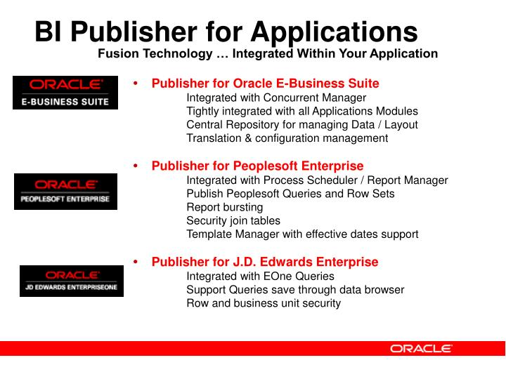 bi publisher data template example - ppt oracle bi publisher enterprise reporting and