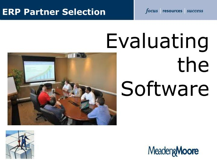 ERP Partner Selection