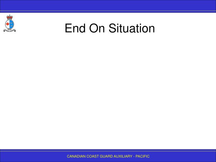 End on situation