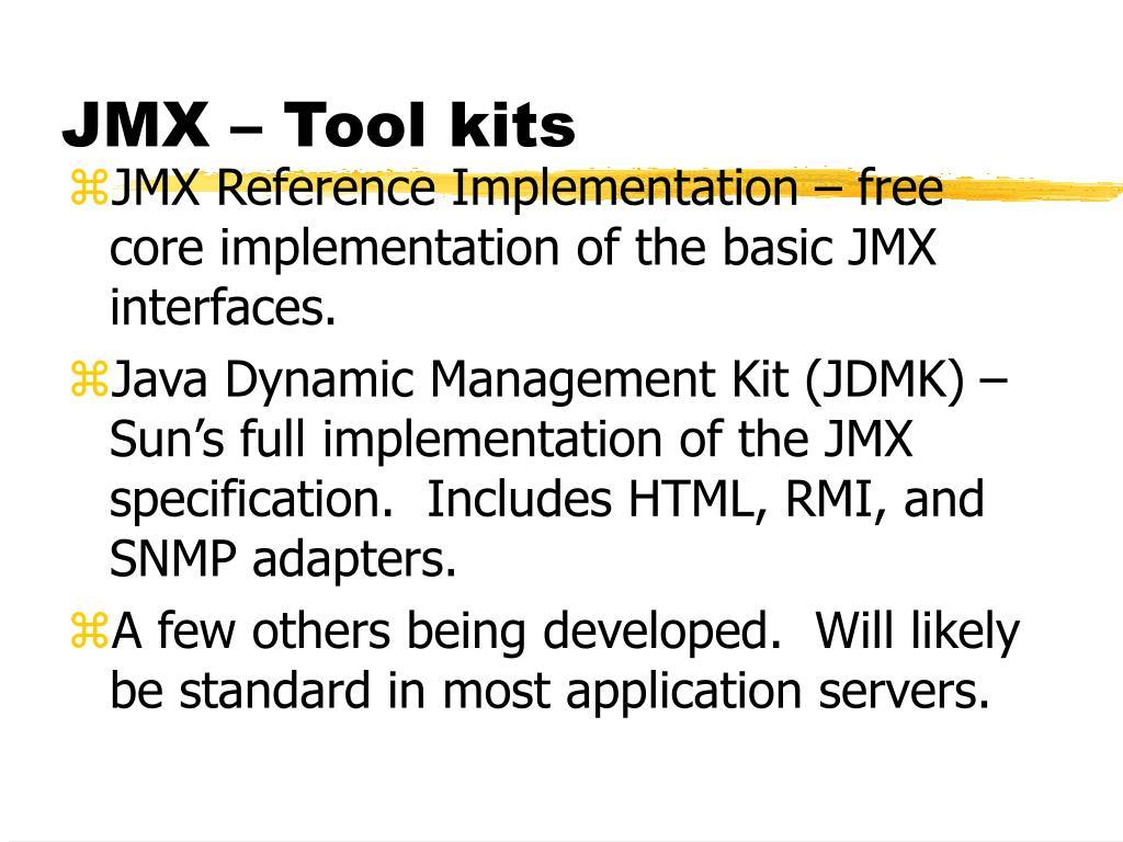 PPT - Java Management Extensions (JMX) PowerPoint
