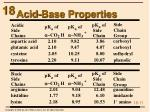 acid base properties