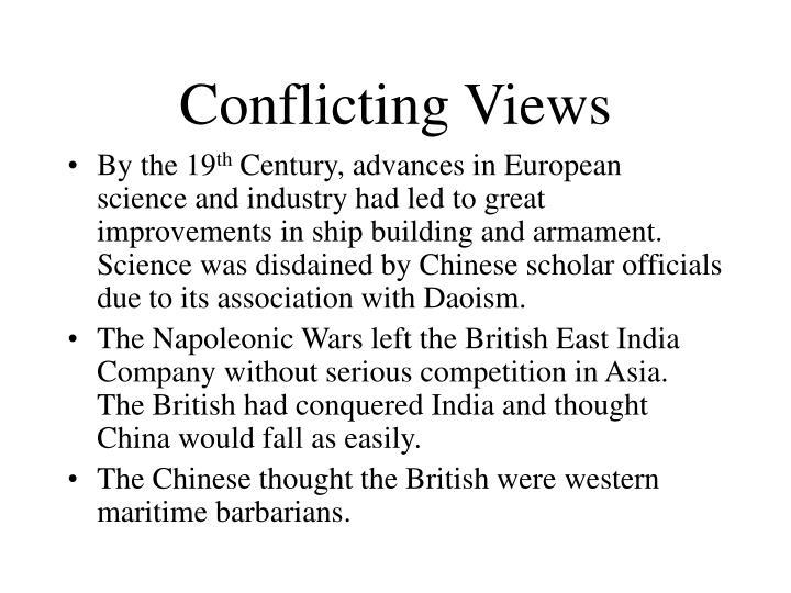 Conflicting Views