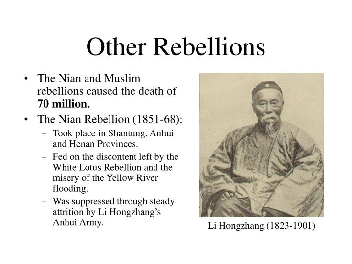 Other Rebellions