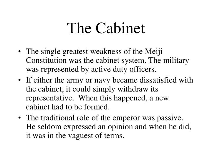 The Cabinet