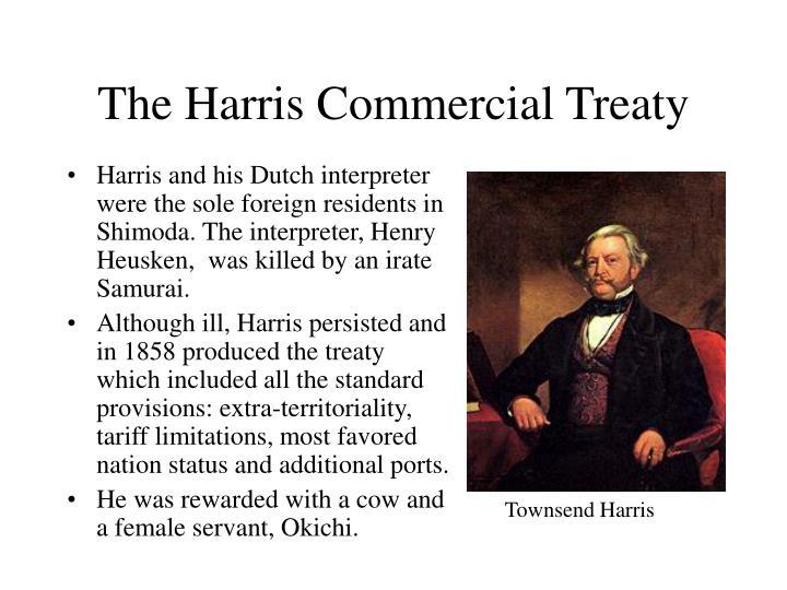 The Harris Commercial Treaty