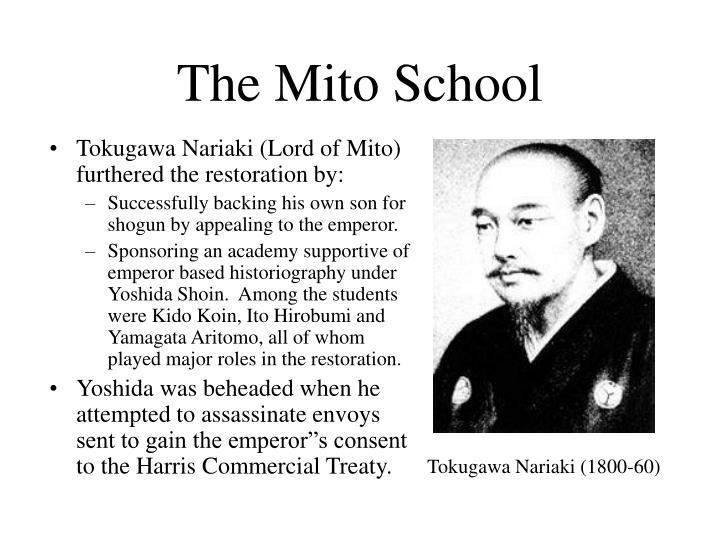 The Mito School
