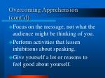 overcoming apprehension cont d1
