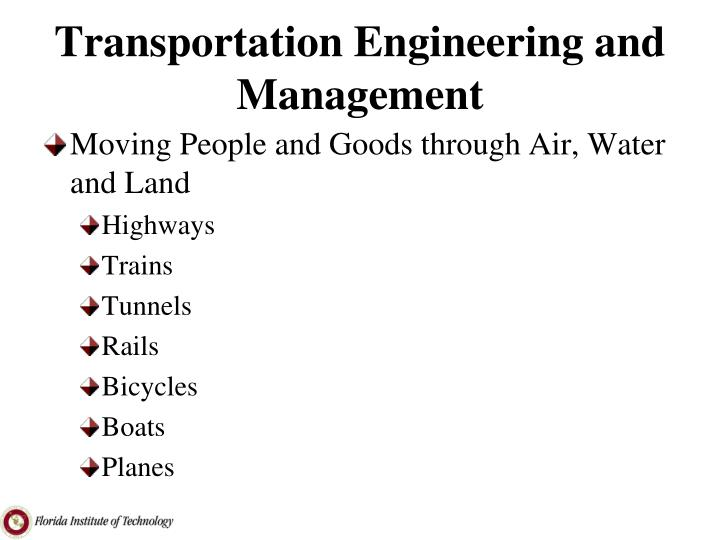 transportation engineering and management n.
