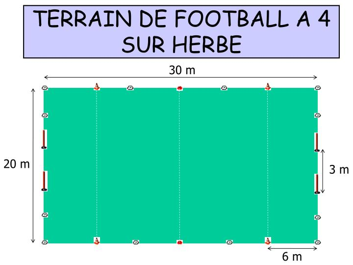 TERRAIN DE FOOTBALL A 4
