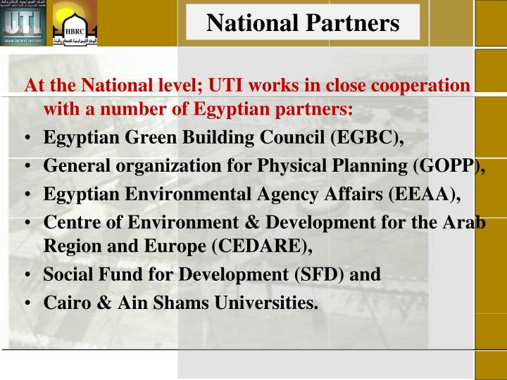 National Partners
