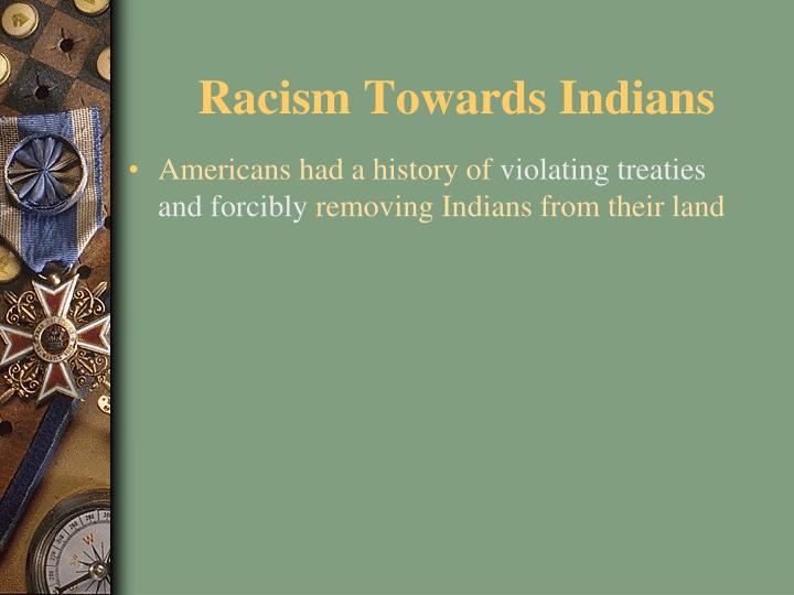 Racism Towards Indians
