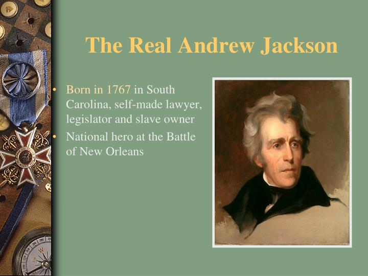The real andrew jackson1