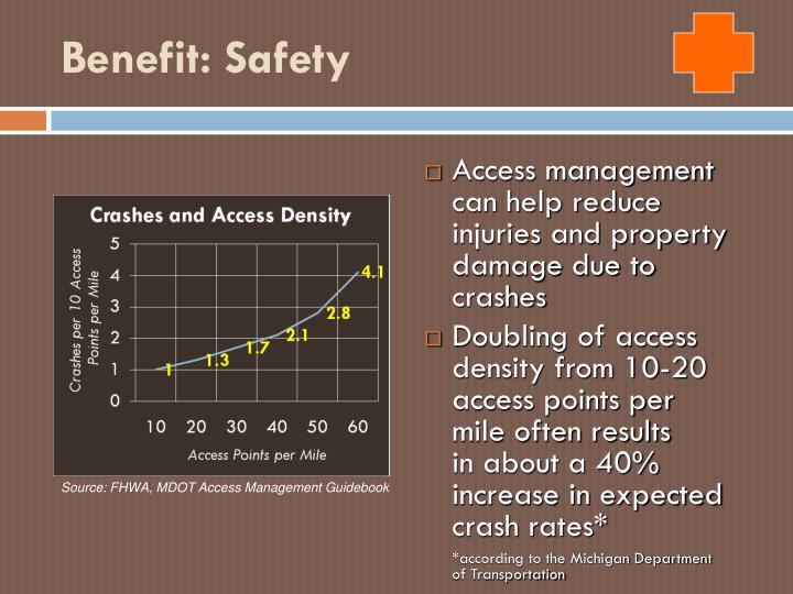 Benefit: Safety