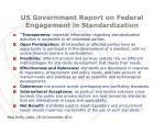 us government report on federal engagement in standardization4