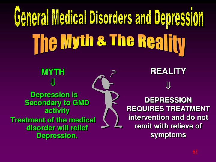 General Medical Disorders and Depression