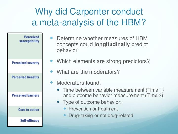 Why did Carpenter conduct