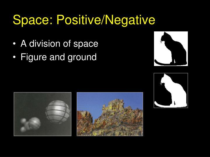 Space: Positive/Negative