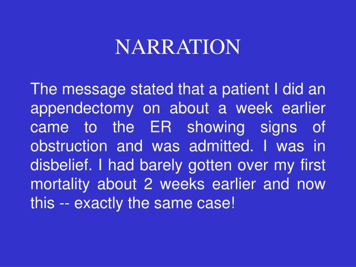 Narration1