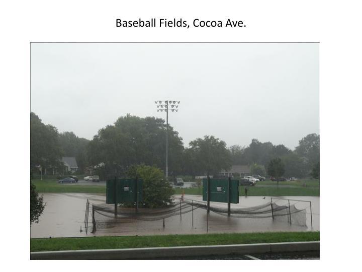 Baseball Fields, Cocoa Ave.