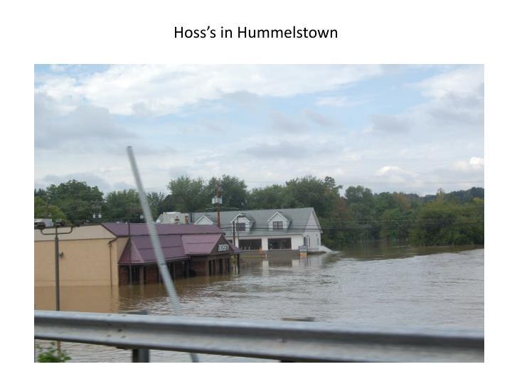 Hoss's in Hummelstown