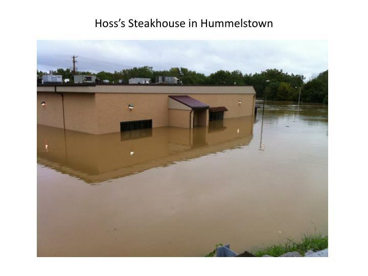 Hoss's Steakhouse in Hummelstown