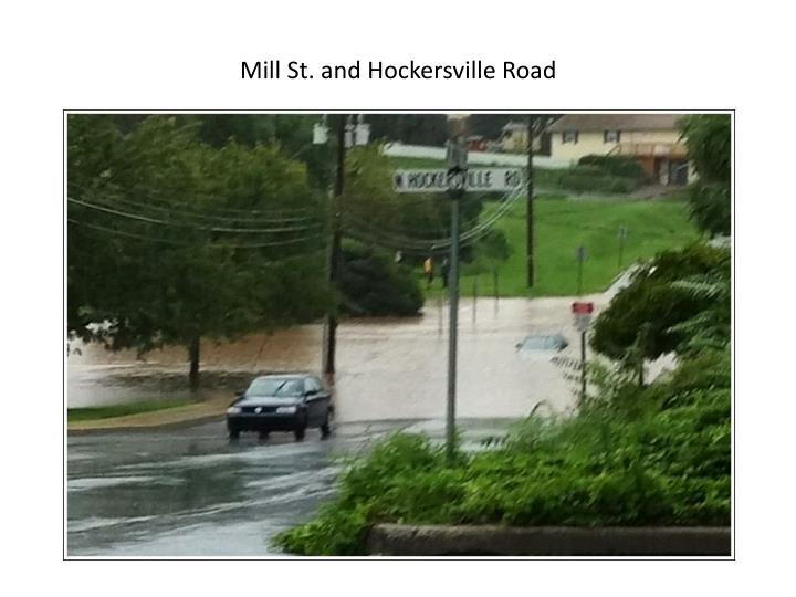 Mill St. and Hockersville Road