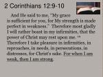 2 corinthians 12 9 10