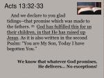 acts 13 32 33
