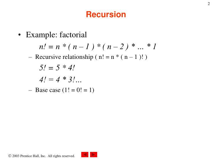 Recursion1