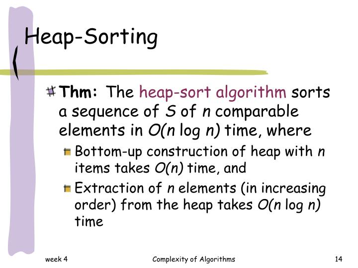Heap-Sorting