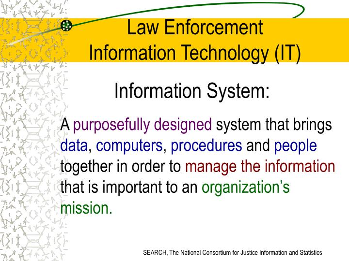 importance to details in law enforcement The los angeles county sheriff's department (lasd) is currently evaluating ppl technology in an operational law enforcement environment with the.