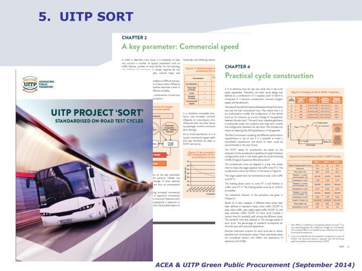 5.  UITP SORT