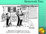 homework time