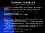 collaboration with fnv aob activities and results 2002 2012