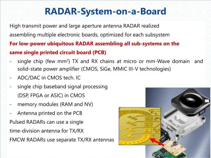RADAR-System-on-a-Board