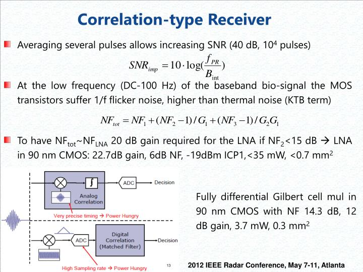 Correlation-type Receiver