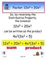 factor 12x 5 20x 3