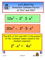 let s build the greatest common factor of 12x 3 and 20x 5