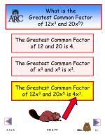 what is the greatest common factor of 12x 3 and 20x 5