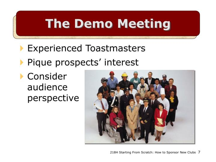 The Demo Meeting