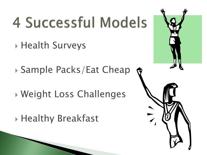 4 Successful Models