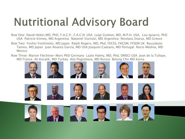 Nutritional Advisory Board