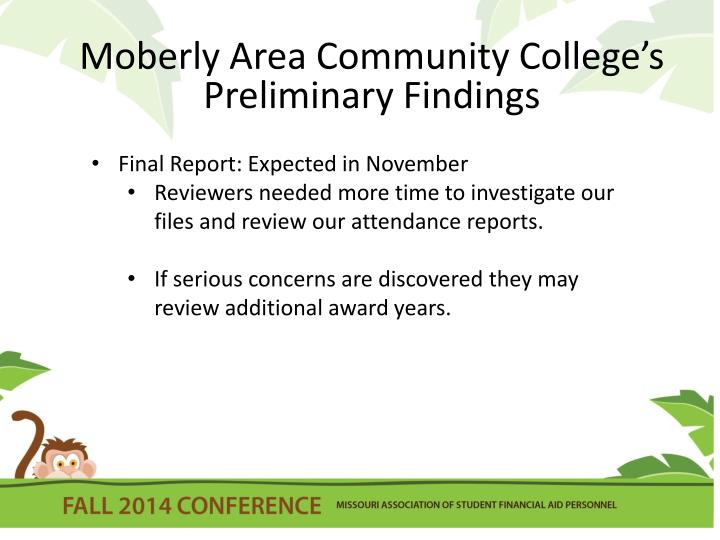 Moberly Area Community College's