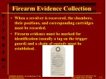 firearm evidence collection1